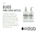 Glass Refillable Bottles (Pump or Spray) - SKU 2494